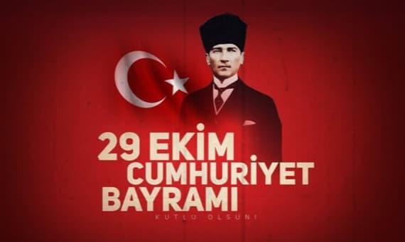 Cumhuriyet Bayram Görselli Kutlama Mesajları