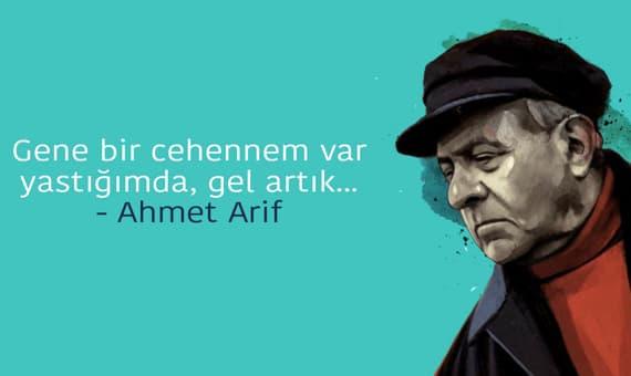 Ahmet Arif Sözleri