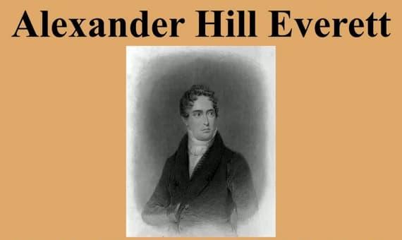 Alexander Hill Everett Sözleri