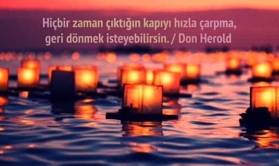 Don Herold Sözleri