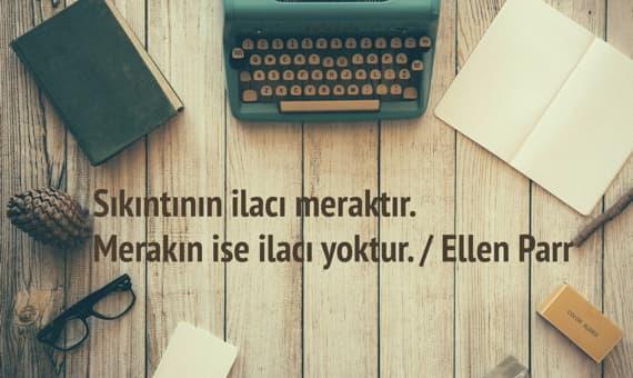 Ellen Parr Sözleri