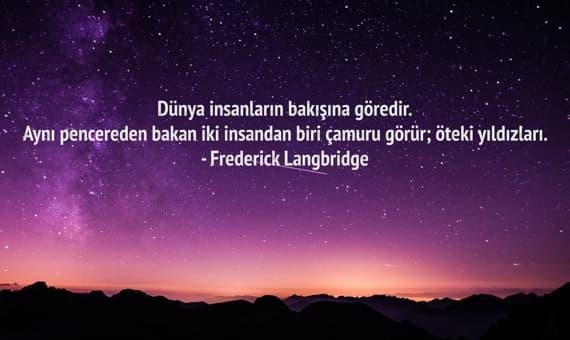 Frederick Langbridge Sozleri